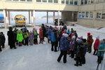 Взятие снежного городка 2015 ЛИЦЕЙ