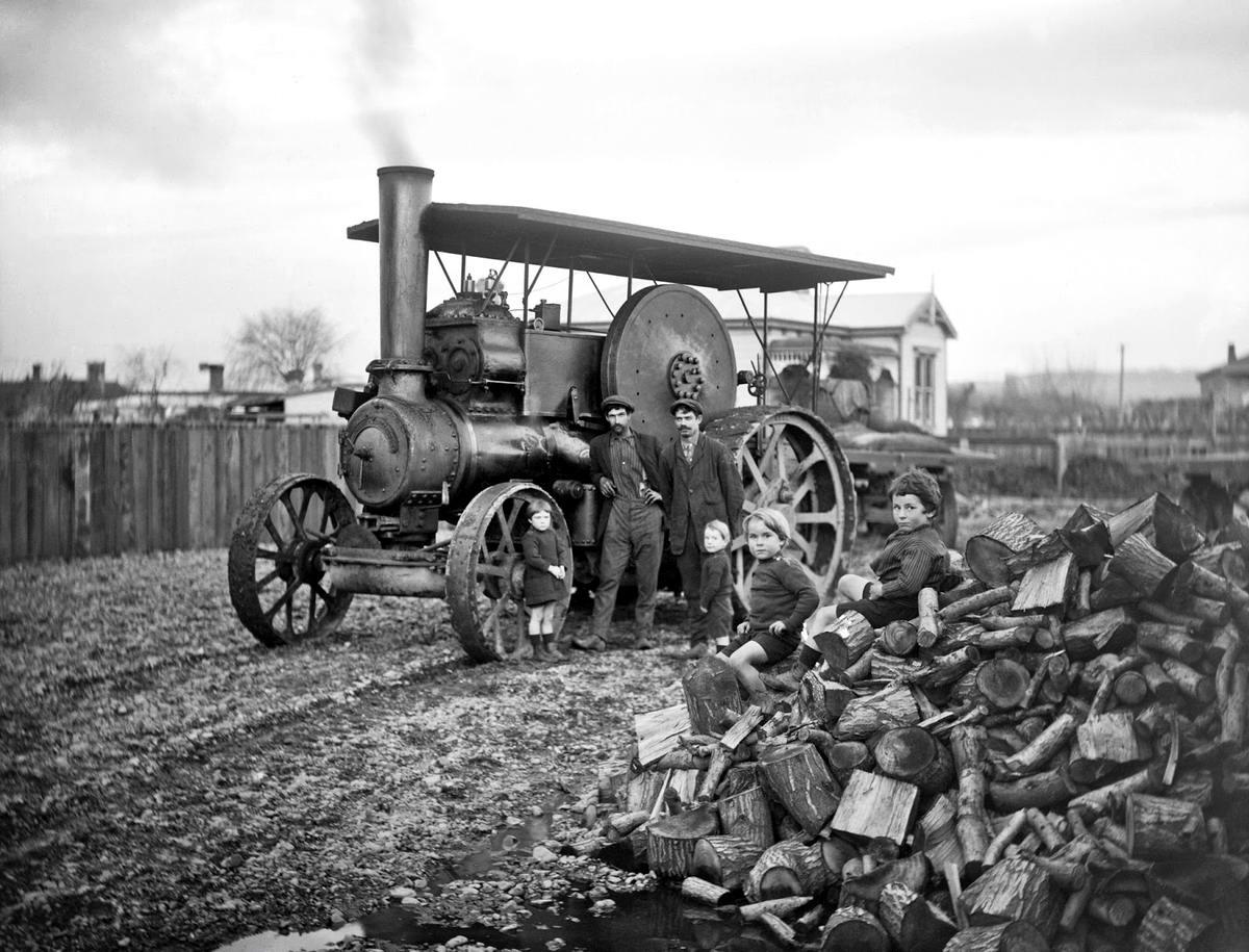 В духе стимпанка: Промышленная индустрия первой половины 20 века на снимках фотографов (1)