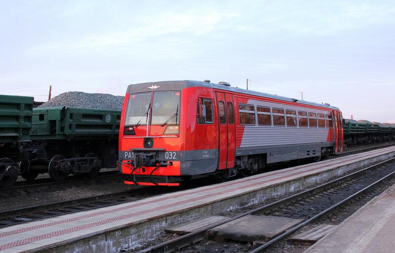 РА1-0032 на станции Великие Луки