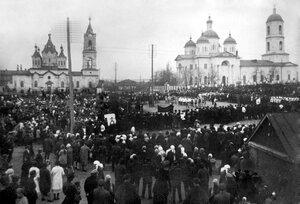 Ильинская церковь и Успенский собор