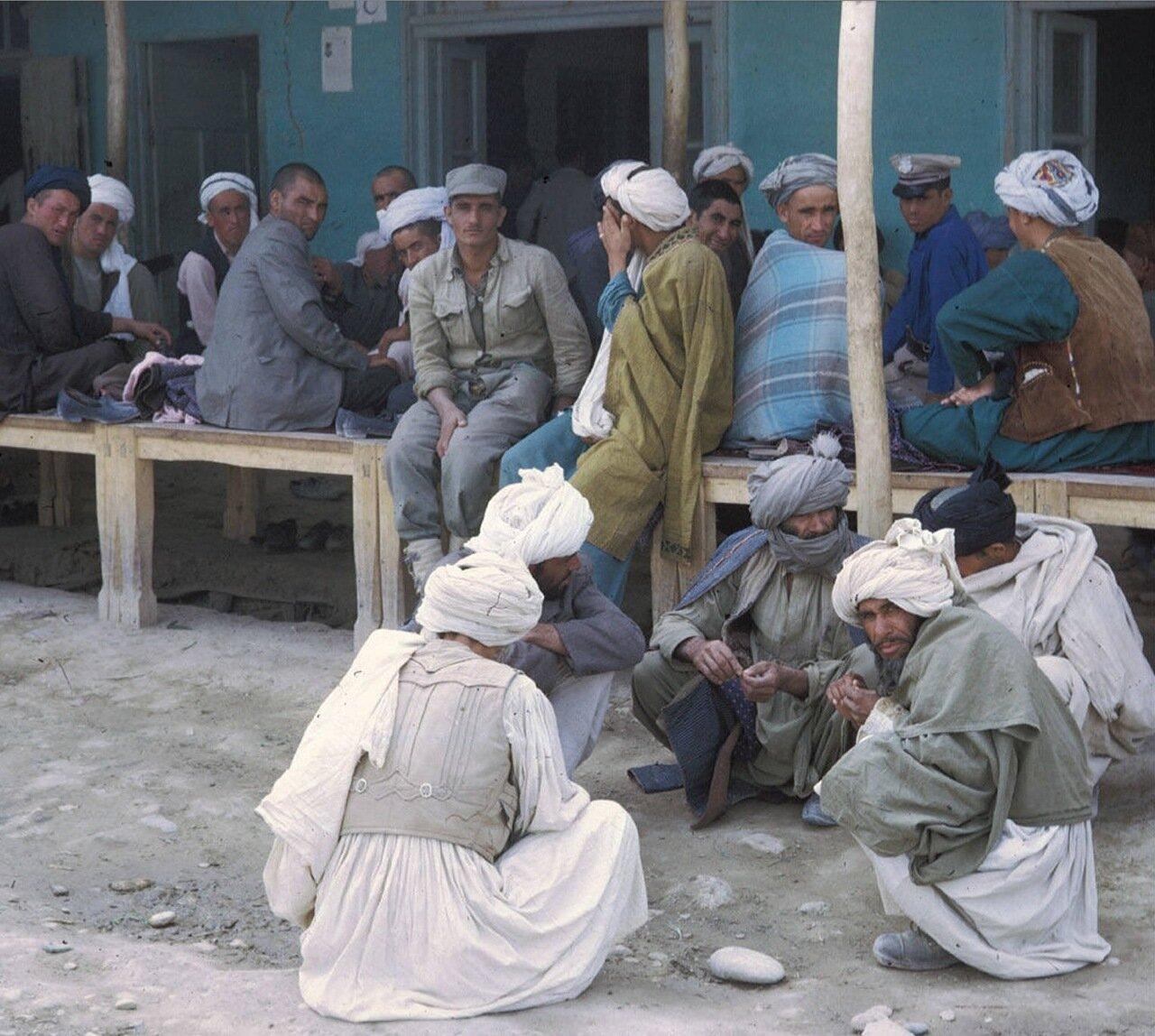 Караван-сарай в Мазари-Шариф
