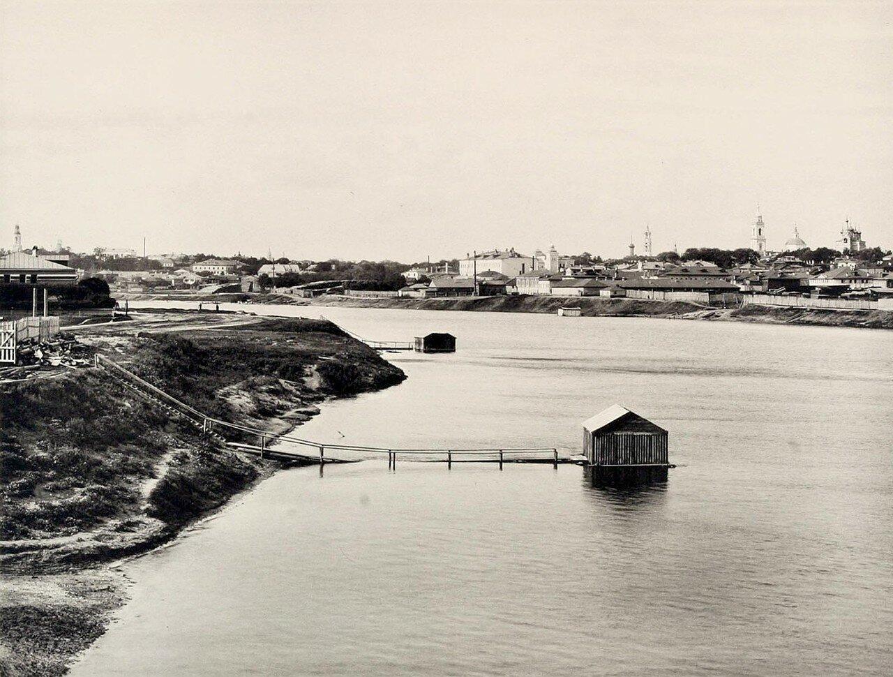 357. 3-й вид из Дорогомилова (выше Бородинского моста)