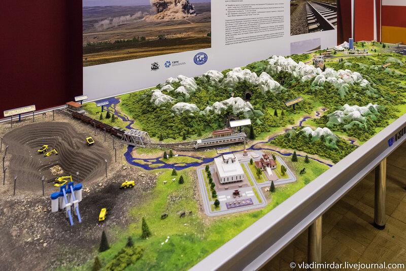 Проект строительства железнодорожной магистрали  Элегест-Кызыл-Курагино