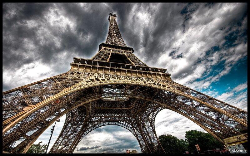 Париж - Эйфелева башня, Paris - Eiffel Tower