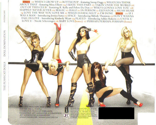 The Pussycat Dolls - Doll Domination (Deluxe Edition)-2CD-2008