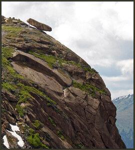 Висячий Камень в Ергаках