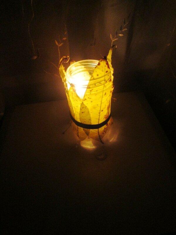 осенняя свеча