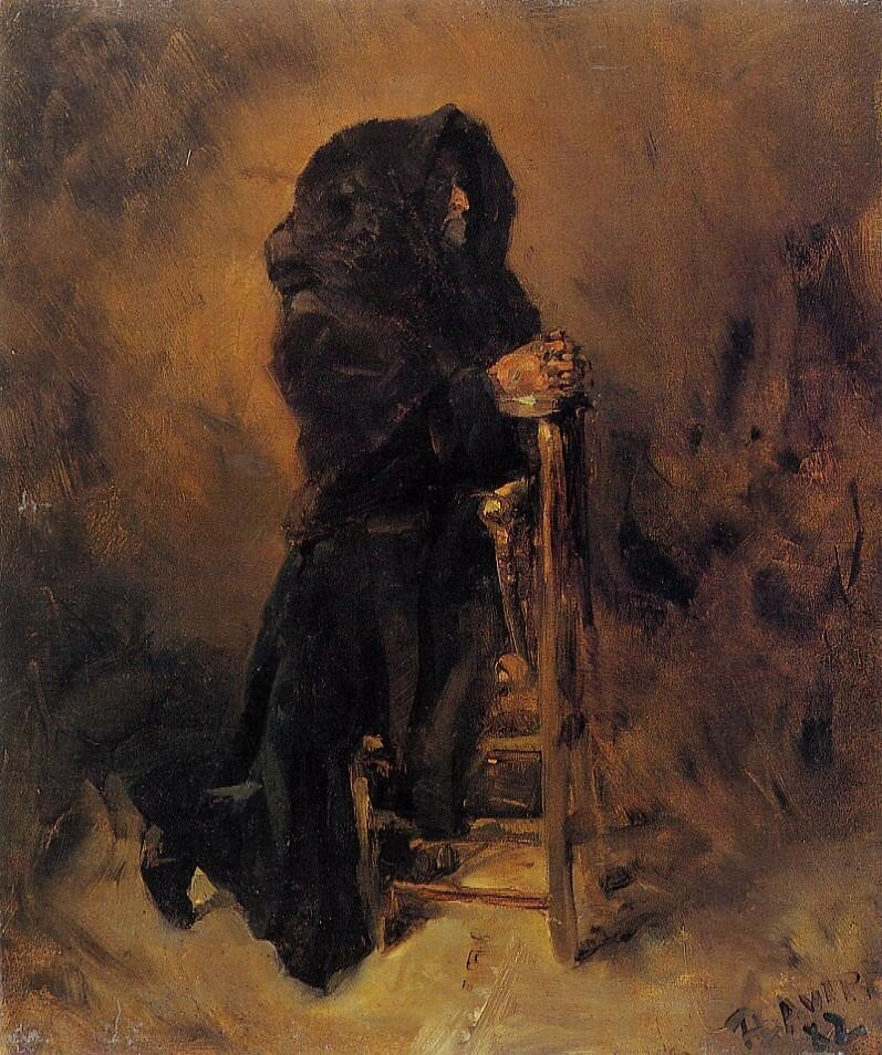 Woman in Prayer - 1882 - PC - Painting - oil on canvas.jpeg