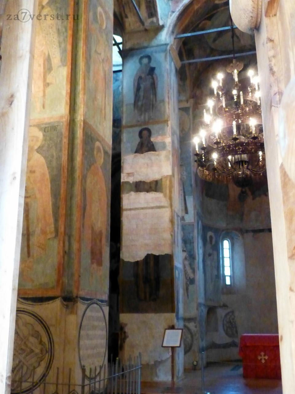 фрески спасо-преображенского храма