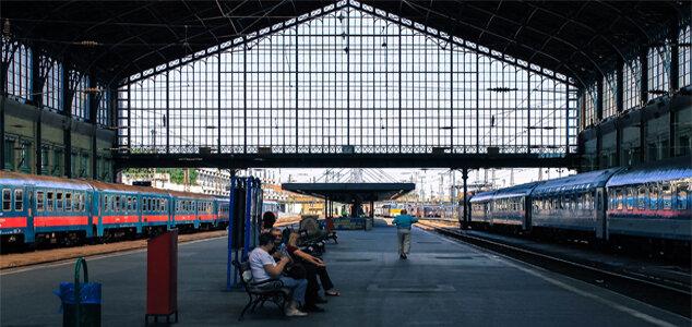 ЖД вокзал Келети в Будапешта