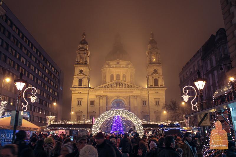 Базилика Святого Иштвана подготовилась к Рождеству