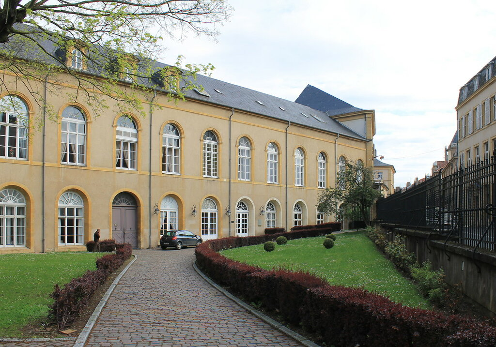 Мец.Аббатство Сен-Арну (Abbaye de Saint-Arnould)