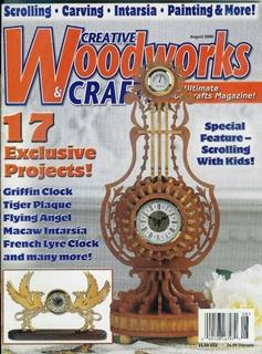 Журнал Журнал Creative Woodworks & Crafts №8 2000