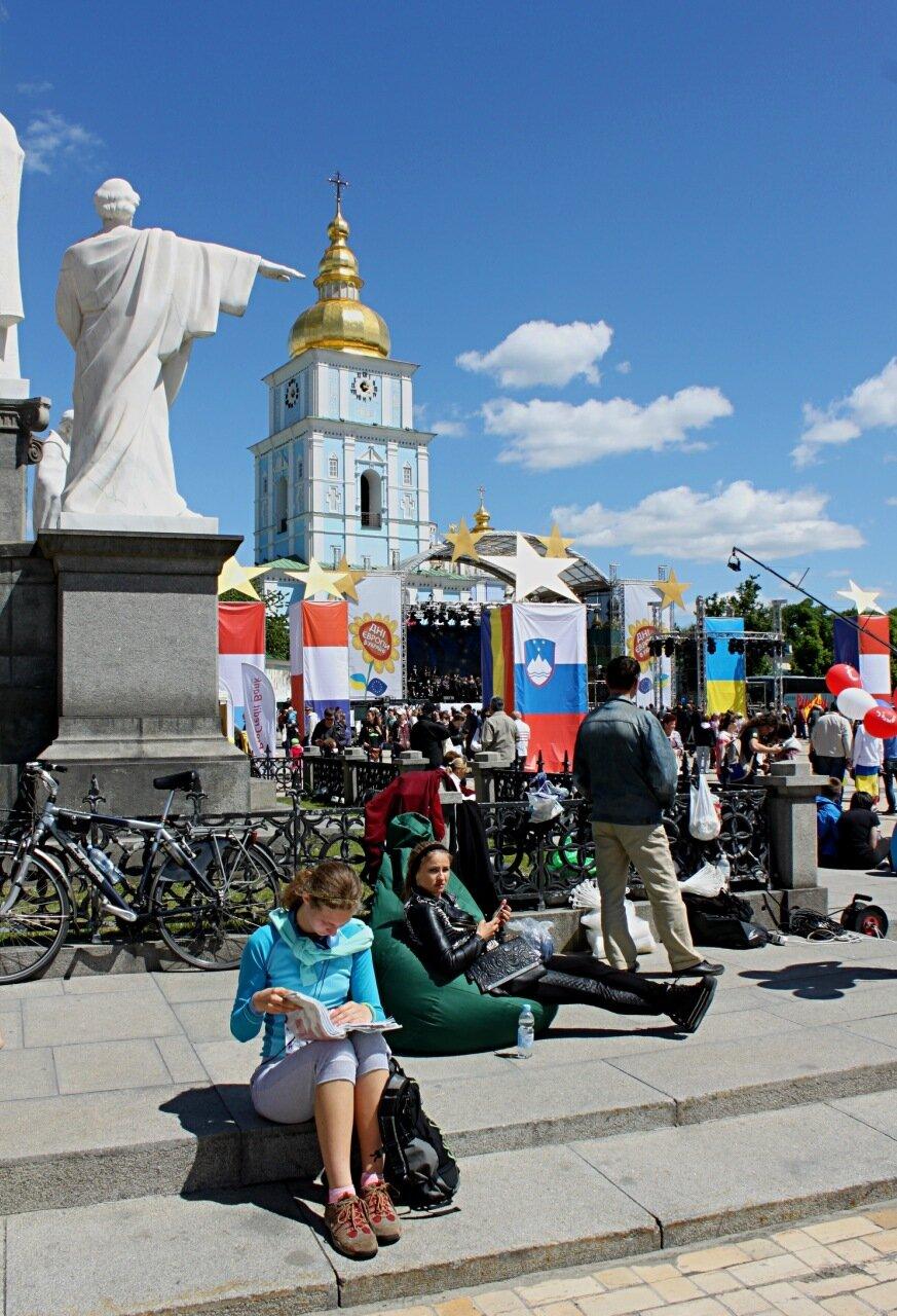михайловская площадь киев день европы