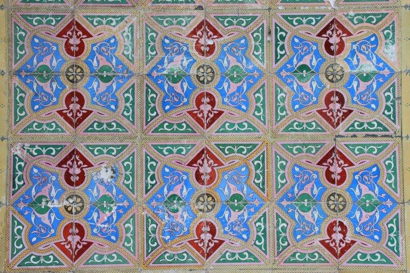 Португалия, Синтра – азулежу (Portugal, Sintra – azulejos)