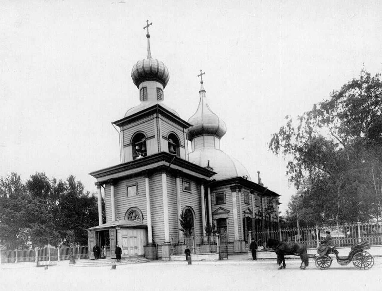 02. Внешний вид собора Пресвятой Троицы. 26 октября 1903
