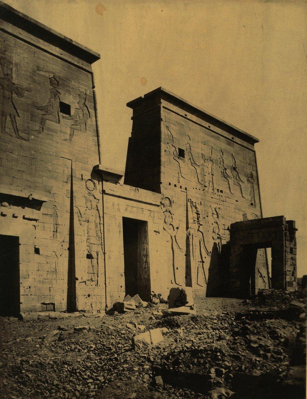 Храм Исиды на острове Филе. 1875