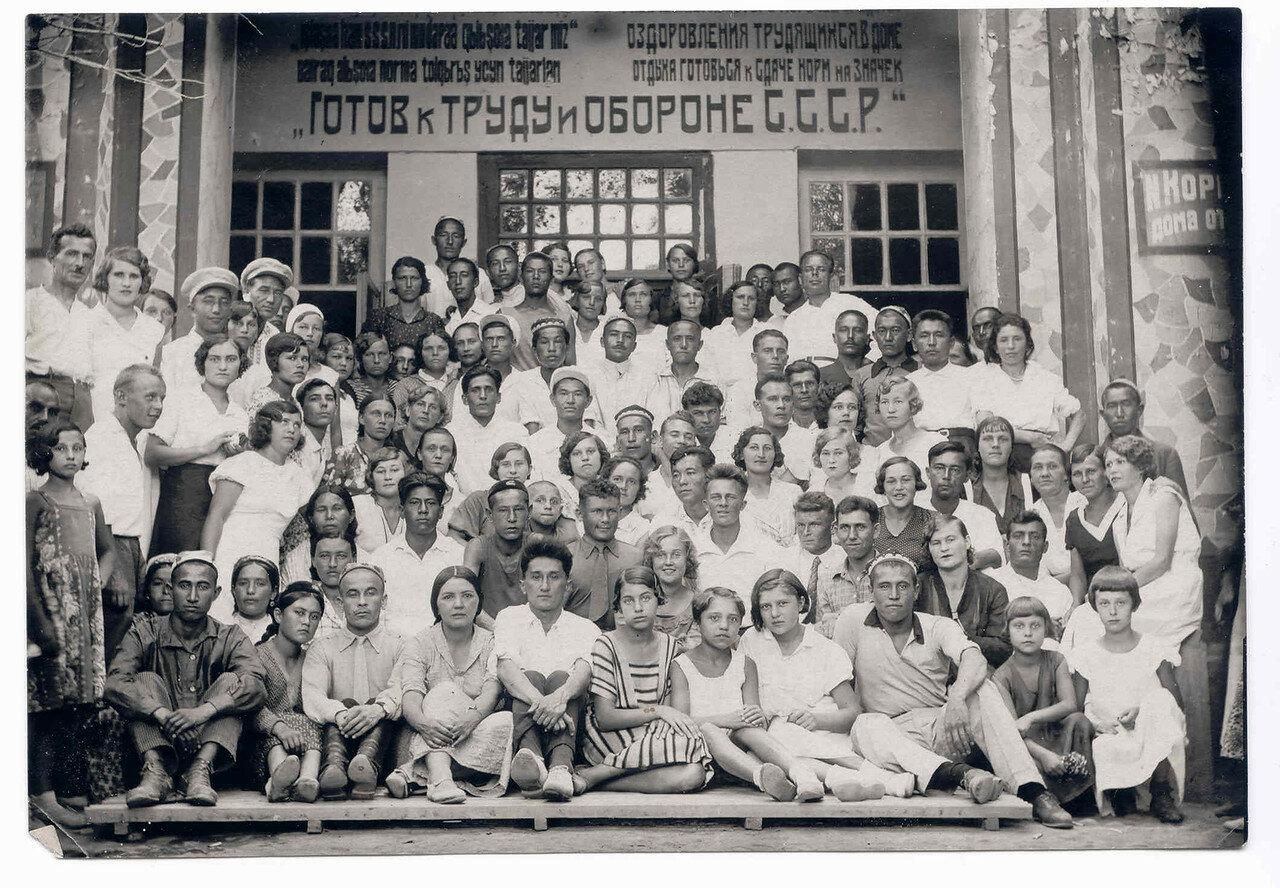 Планерная школа в Ташкенте