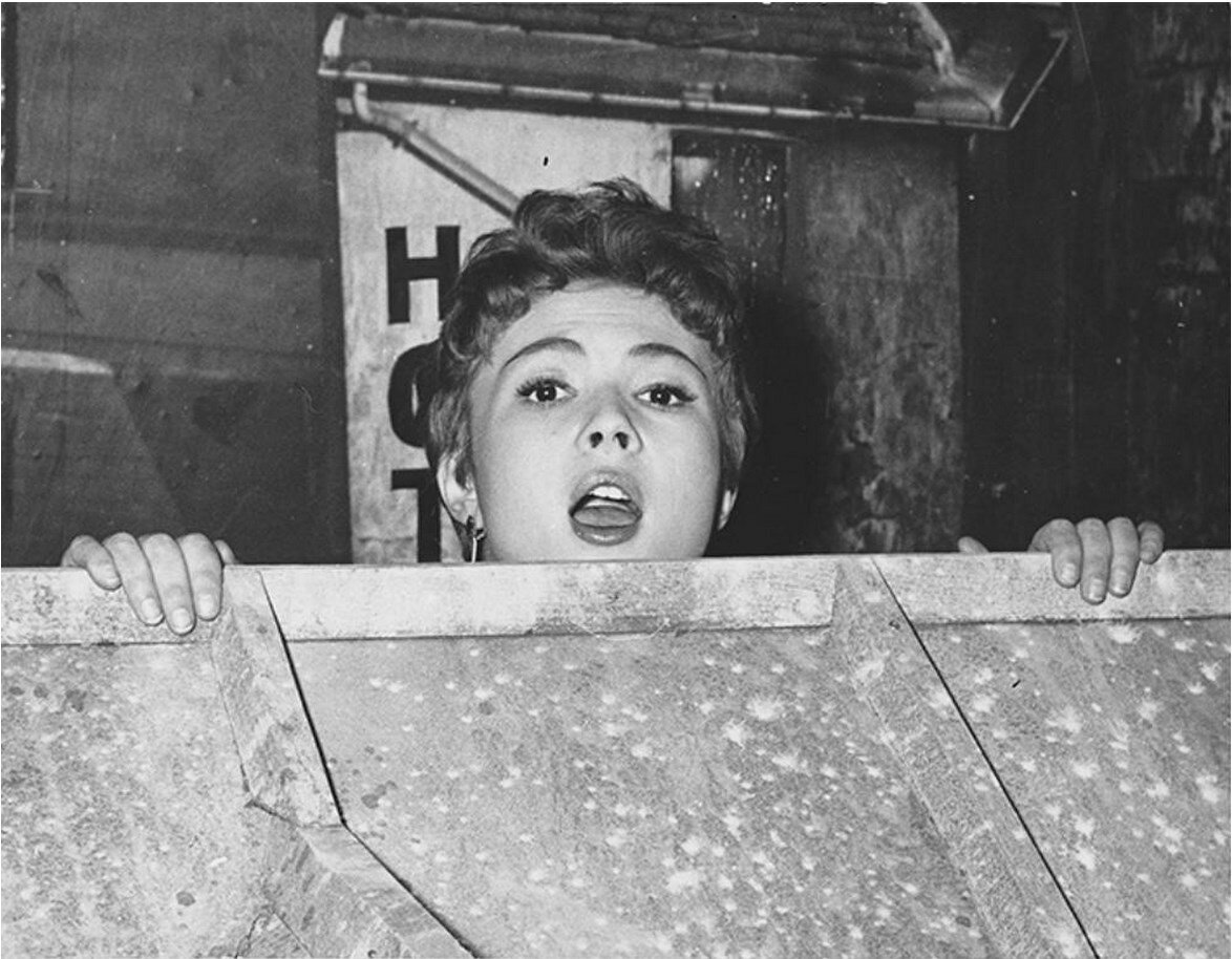 1950-е. Даниэль Делорм (1926 ) - французская актриса и кинопродюссер