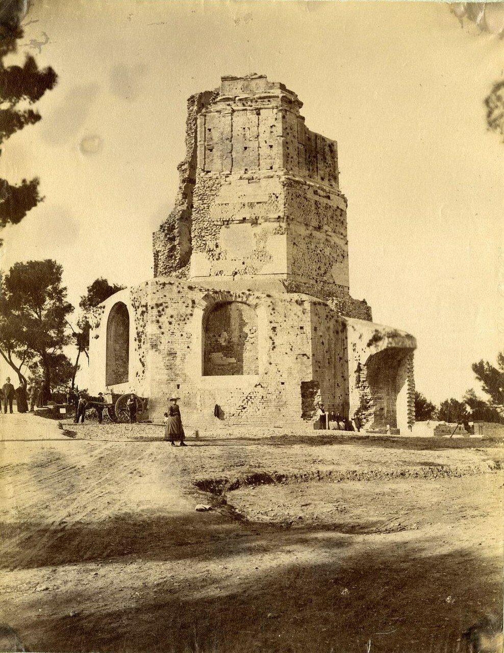 Галло-римская башня Мань. 1880-е