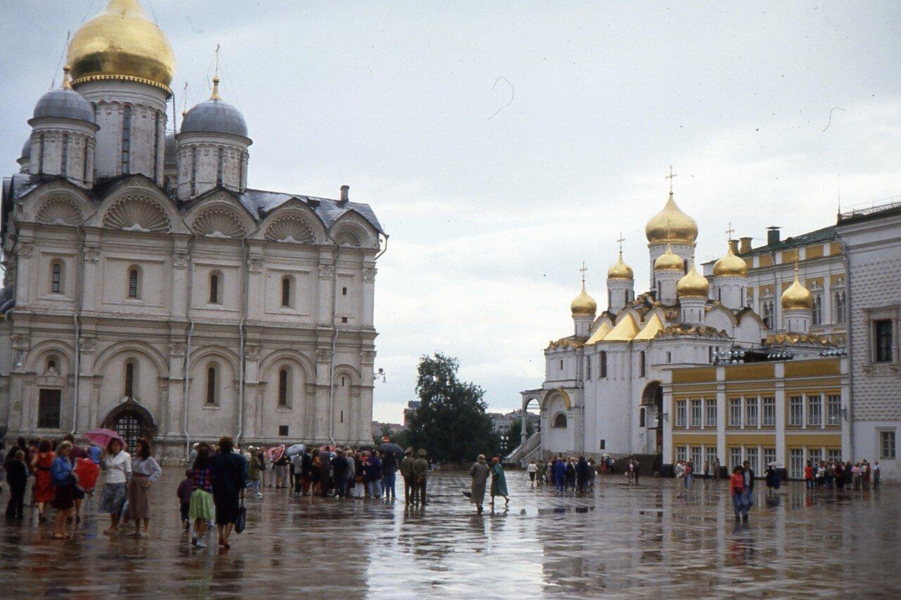 Москва. Кремль. Соборная площадь