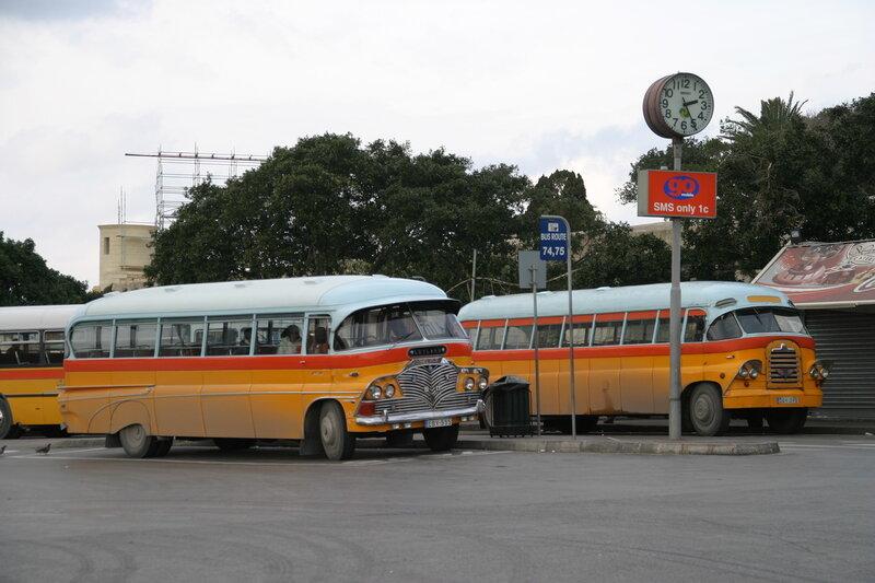 Мальтийские автобусы