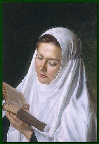 Сестра милосердия А.Шилов.