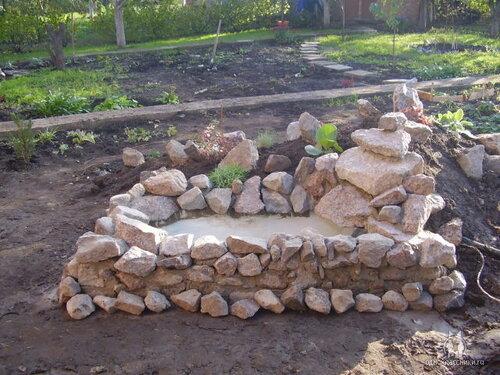 Строим пруд