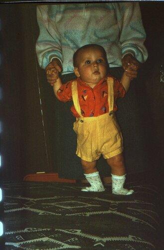 Лёха, 5-6 месяцев. 1990 г