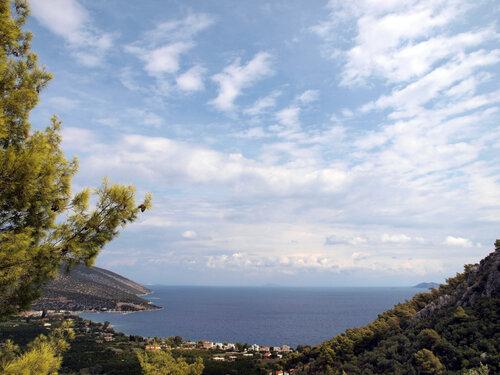 В Греции много неба!