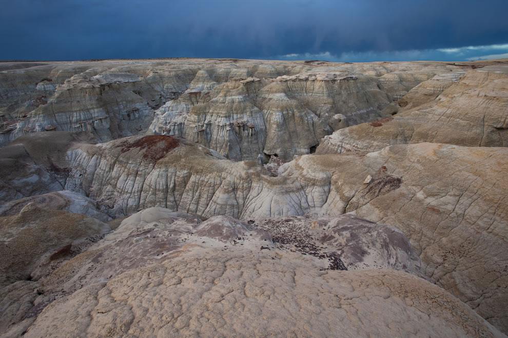 Удивительная пустыня Ах-Ши-Сле-Пах в Нью-Мексико