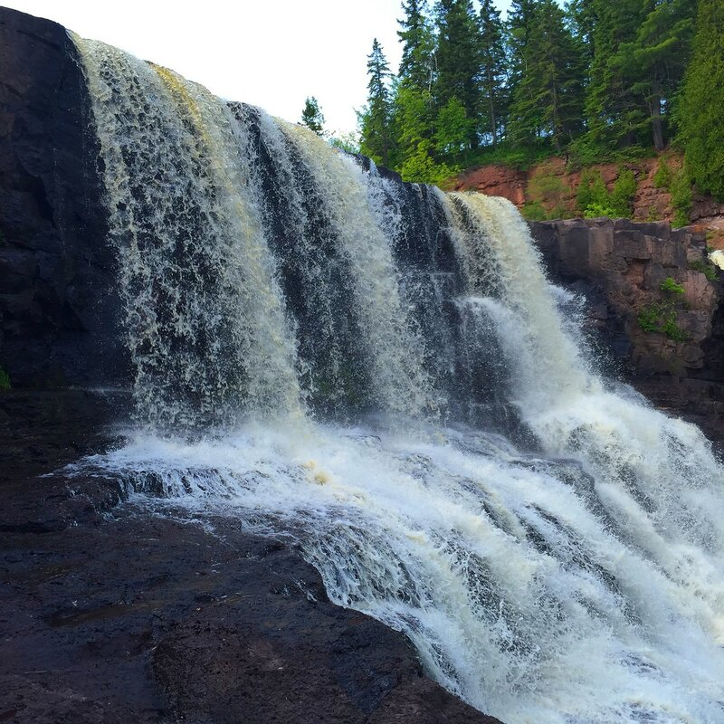 Gooseberry Falls State Park, MN.