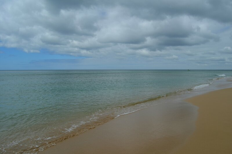 Океан с облаками