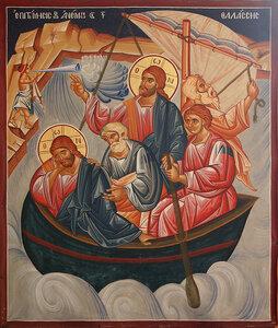 Христос на корабле