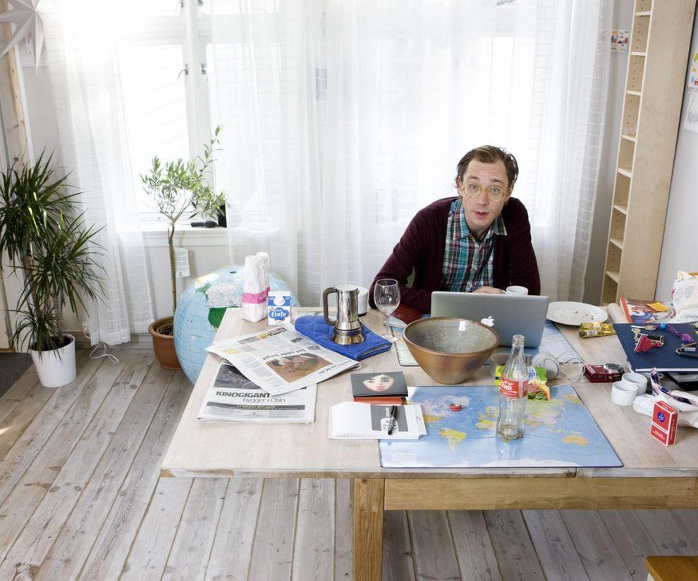 8. Эрленд Ой, 36 лет, Берген, Норвегия   «Раньше я тоже занимался каучсерфингом, это было забав