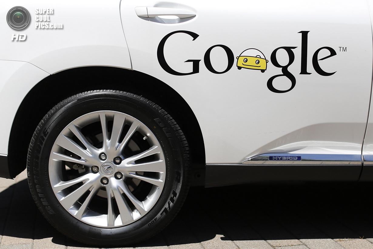 США. Маунтин-Вью, Калифорния. 13 мая. Логотип Google крупным планом. (REUTERS/Stephen Lam)