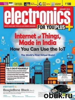 Книга Electronics For You №1 (January 2015)