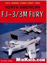 Книга North American FJ-3/3M Fury (Naval Fighters №88)