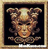 Журнал Золотое руно МС-001 Маска-бабочка