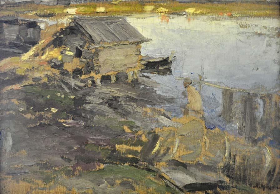 Архипов. На берегу реки (1902-1903) 900.jpg