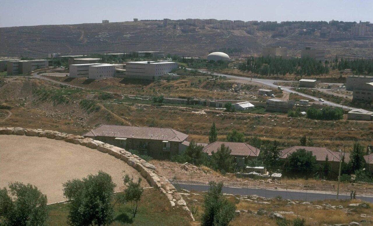 Еврейский университет. Панорама кампуса