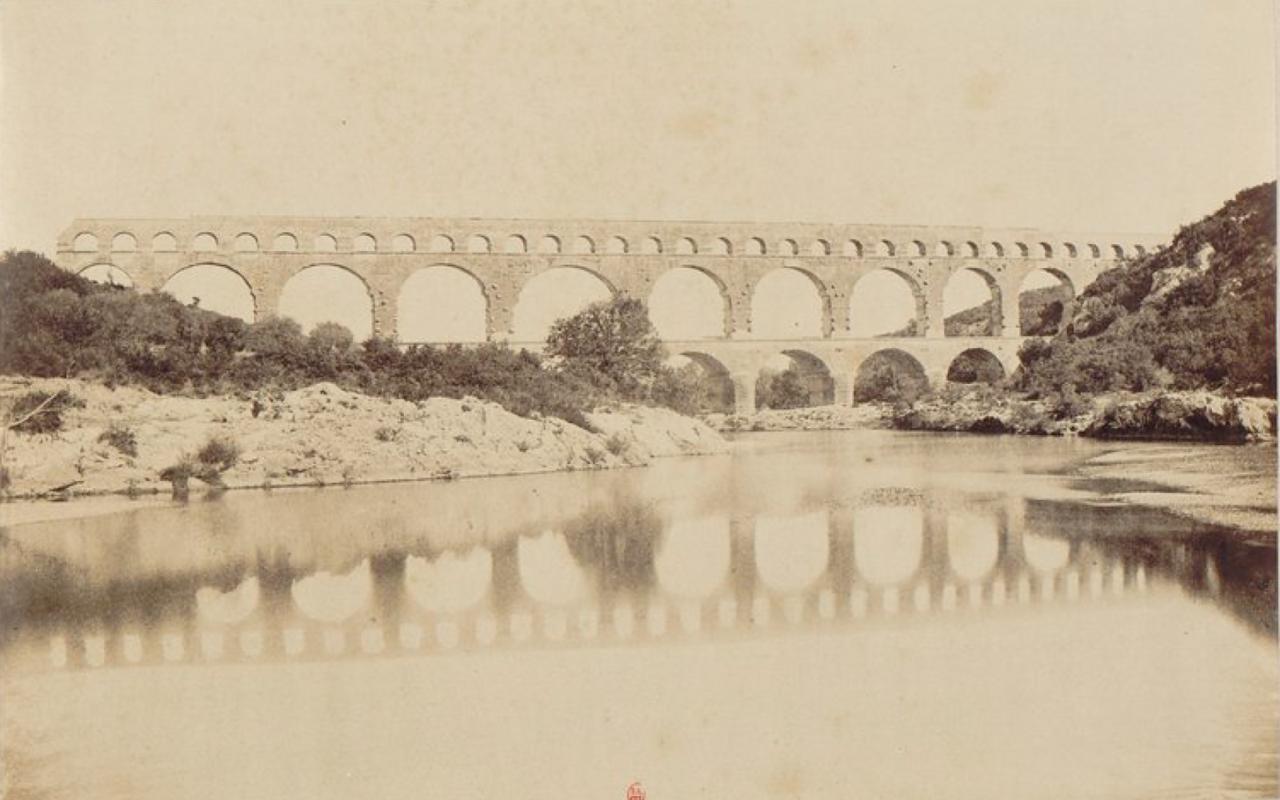 1860. 10. Пон-дю-Гар (самый высокий сохранившийся древнеримский акведук)