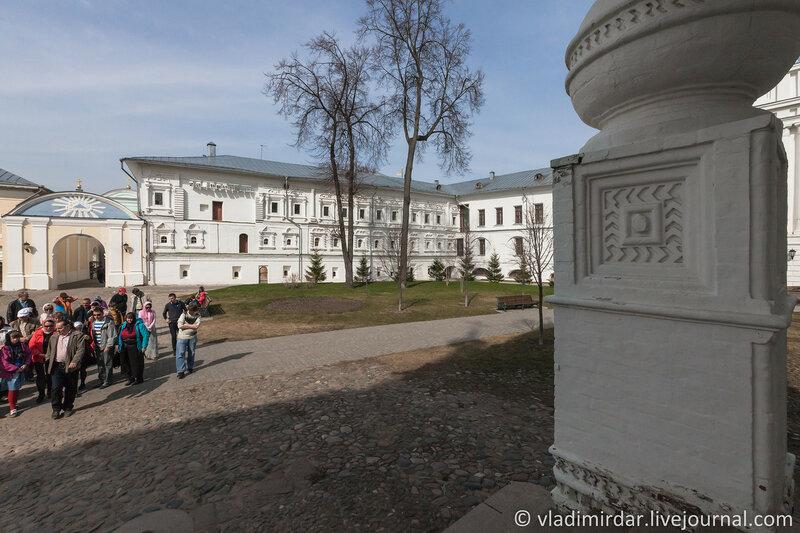 Наместничий корпус. Ипатьевский монастырь. Кострома.