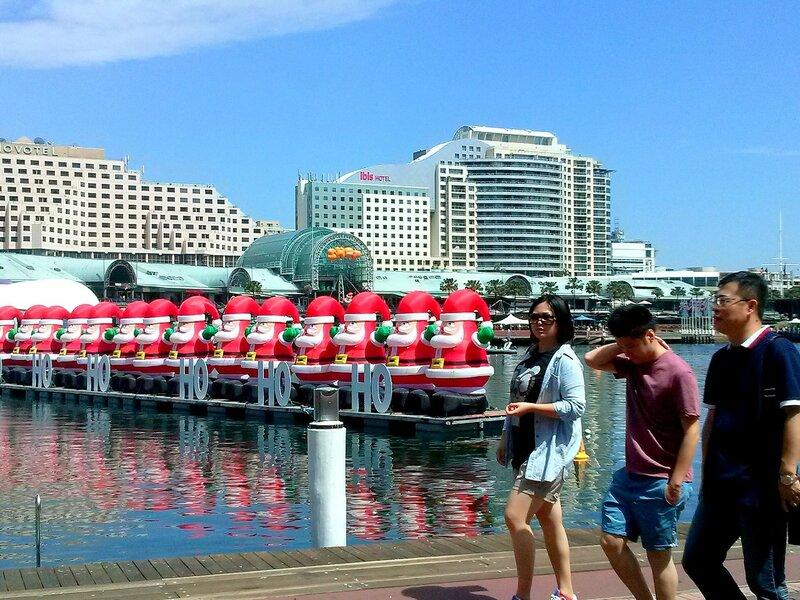 Новогодняя набережная Сиднея