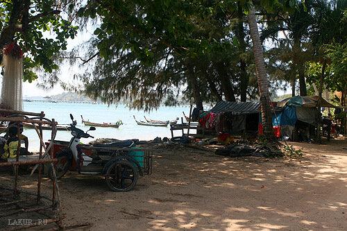таиланд остров рыбаки деревня