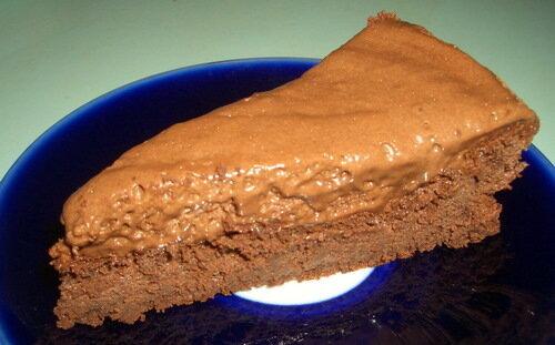 Супершоколадный торт без муки!