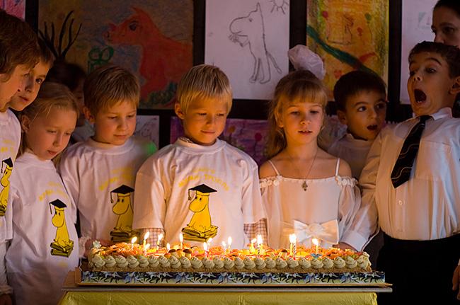 Традиции школы Муми-Тролль: день рождения