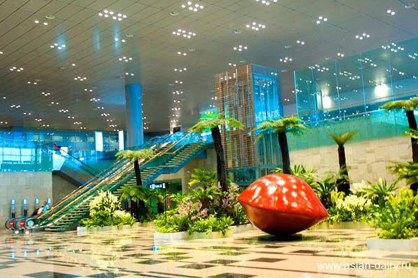 Чанги-2: третий терминал сингапурского аэропорта - смело и амбициозно.