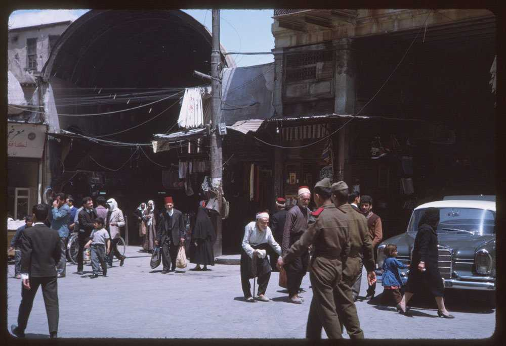 Как столица Сирии выглядела полвека назад (16 фото)