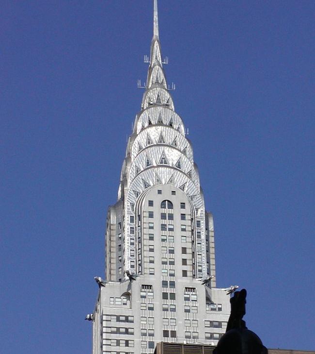 Крайслер-билдинг вНью-Йорке. Если есть подозрение, что где-то вэтом доме живет или работает Железн